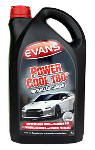 Price comparison product image Evans Power Cool 180 - Waterless Engine Coolant for Racing & Performance Cars - 5 Litres (1)