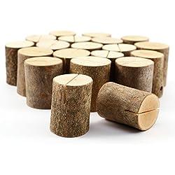 Soporte vertical para Tarjeta mesero de Boda (10 unidades)