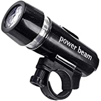Pratico 5LED proiettore–Luce anteriore per bicicletta–Impermeabile–Luce Continua e luce lampeggiante–150ore, e 20ore con la massima intensità luminosa - 24in I-beam