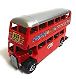 #8: Double Decker Bus, Red color, Size - Length 16 cm, Height 5 cm, Breadth 8 cm
