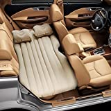 ALTERED LIFESTYLE CAR BED Inflatable Car Air Mattress with Pump (Portable) Travel, Camping, Vacation | Back Seat Blow-Up…