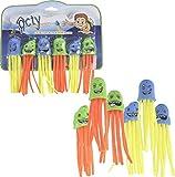 Tauch Spielzeug Octy 6er Set - Haifisch Spielfigur, Tauchring, Pool Spielzeug, Mitgebsel