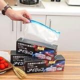 Set Plastic Wrap Zipper Frische Taschen Kühlschrank Einfrieren Food Storage Taschen Preservation Reisen Snack Organizer -