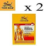 Bálsamo De Tigre Parche Caliente 10x 14cm X 4 Productos   Anti-Dolor Bandas Adhesiva Tiger Balm
