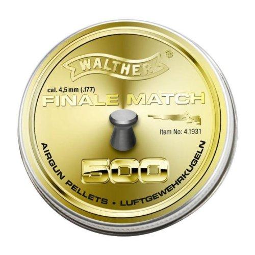 Walther Final Match Diabolo 4,5mm (.177) für Luftgewehr  0,53g
