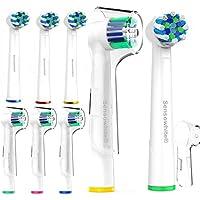 sensowhite® Oral B compatible – Cabezales para cepillo de dientes eléctrico (8)/variedad Pack compatible con OralB.