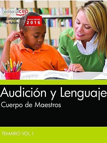 Cuerpo de Maestros, audición y lenguaje. Temario