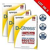 D-Stress Booster � Magnésium hautement assimilé, taurine, vitamines B � Origine France � Lot de 3