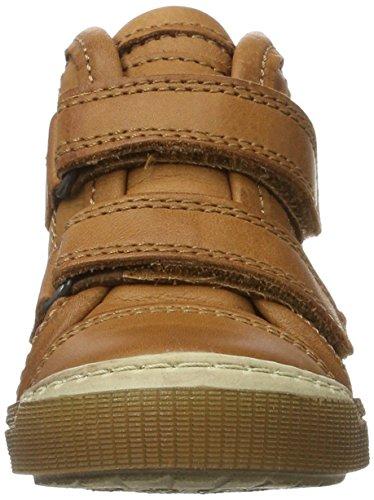 Bisgaard - Klettschuhe, Pantofole a Stivaletto Unisex – Bambini Braun (500 Cognac)