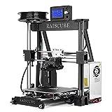 TSSS 3D Drucker Selbstbau Bausatz Deutschland-Schnittstelle Aluminium Rahmen DIY Printer Drucken Multi-Druckmaterialien Kompatibel mit Lcd-bildschirm und 1.75mm Filament