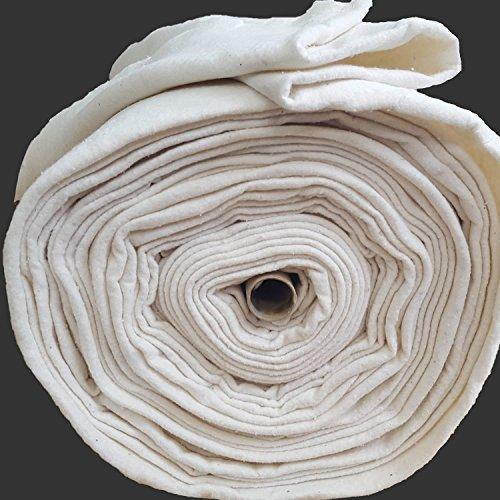 Guata de algodón para manualidades. Ancho de 280 cm. Se vende por metros.