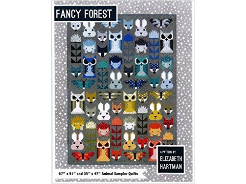 Elizabeth Hartman Fancy Forest Quilt Muster -