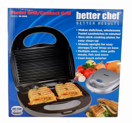 better chef Panini Grill/Contact grill by better chef