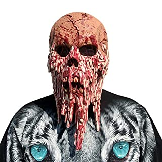 Gaddrt Halloween Horror Masks Scary Latex Mask Halloween Costume Party Latex Head Mask