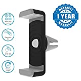 #8: Captcha Premium Car Air Vent Universal Mount Holder Stand For Mobile Phones [4 Inch To 5.50 Inches], Black/Grey
