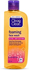 Clean and Clear Foaming Face Wash, 150ml
