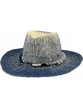 Barts–Sombrero de Paja Azul Jean niña del 4al 12años Barts