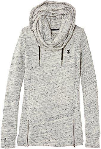 OnePiece Whatever - Sweat-shirt à capuche - uni - Fille Gris