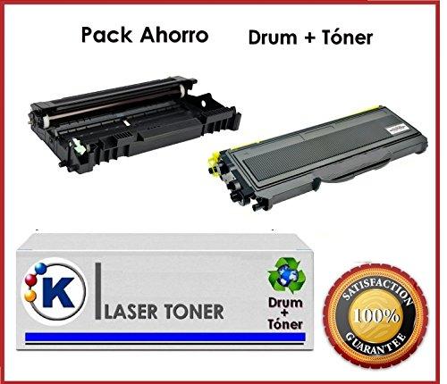 Pach risparmio Toner + Tamburo compatibile per uso in Ricoh Aficio SP 1200SF-Stampante multifunzione laser. (Ricoh Tamburo)