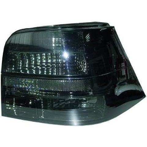 In. pro. 2213797HD–Faros traseros para Volkswagen Golf 4, diseño Año: 97–03Solo Limousine, color negro transparente