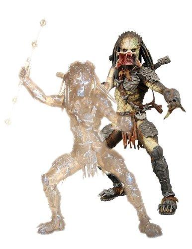 set 2 figures predator stealth mode avp requiem neca Serie III -