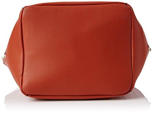 Nica - Hayley, Borsa con Maniglia Donna Arancione (Orange (Terracotta))