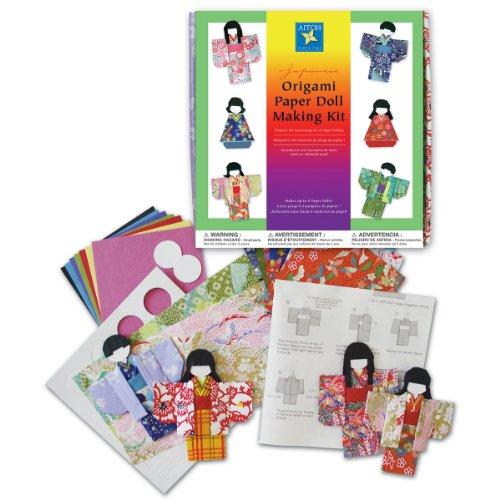 Aitoh Papier Kimono Puppe Kit - Doll Kimono