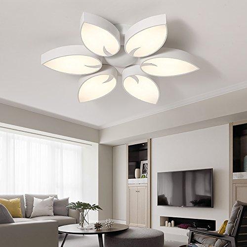 ... Style Home 36W LED Deckenlampe Kronleuchter 55cm Groß Volldimmbar Mit  Fernbedienung Wohnzimmer Schlafzimmer Kinderzimmer PS6926  ...