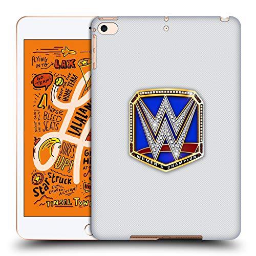 Head Case Designs Offizielle WWE Smackdown Women's Champion Weltmeistertitel Harte Rueckseiten Huelle kompatibel mit iPad Mini (2019) (Womens Champion Wwe)