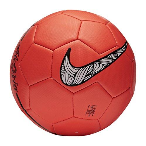 Nike Herren Fußball PRESTIGE NEYMAR, Orange/Schwarz, 5, SC2814-830 (Nike Fußball Ball Futsal)