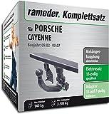 RAMEDER Komplettsatz, Anhängerkupplung abnehmbar + 13pol Elektrik für PORSCHE CAYENNE (112828-04899-3)