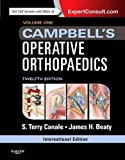 Campbell's Operative Orthopaedics International Edition: 4-Volume Set