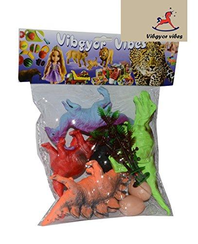 Vibgyor Vibes Farm Animals Figures Set – Medium (Pack of 12)