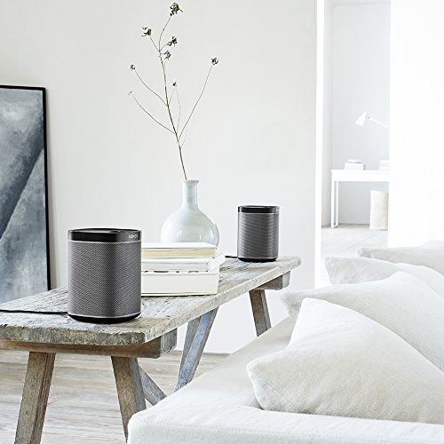 Sonos PLAY:1 I Kompakter Multiroom Smart Speaker für Wireless Music Streaming (schwarz) - 5