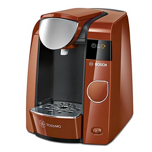 Bosch TAS4501 Tassimo Multi-Getränke-kaffeeautomat JOY (mit Brita Wasserfilter, Getränkevielfalt, 1-Knopf-Bedienung), Sweet Caramel / anthrazit thumbnail