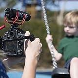 RØDE VideoMic GO On Camera Microphone - Black/Red