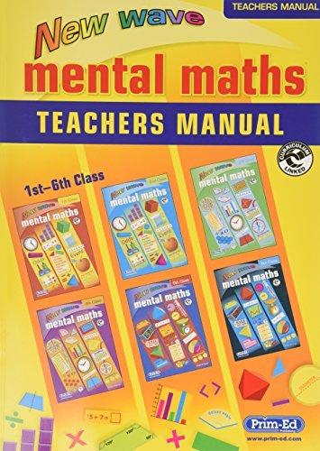 New Wave Mental Maths Teacher's Guide: Teacher Answer Book by Prim ed (2007-06-30)