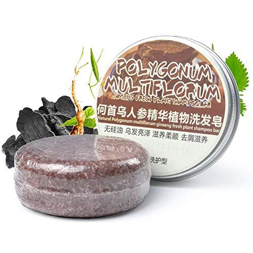 5Five Shampoo Pflanzenöl 100% natürlich, handgefertigt, organische Seife Bar Ginseng -