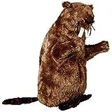 Trixie Biber, Plüsch Kuscheltier Plüschtier Plüsch Figur Stofftier für Hund (40 cm (35918))