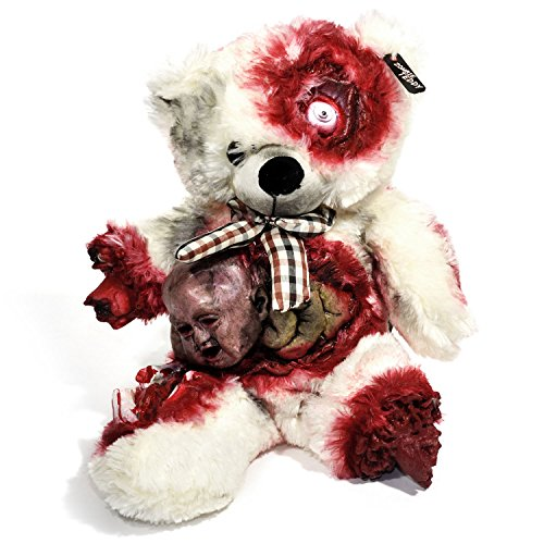 y XXL die Halloween Teddybär Undead-Teds Evolution für alle Splatter & Horror Fans; Alien-Geburt ()