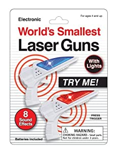 Mini Space Blasters - Arma de juguete (Funtime Gifts 4025) Importado