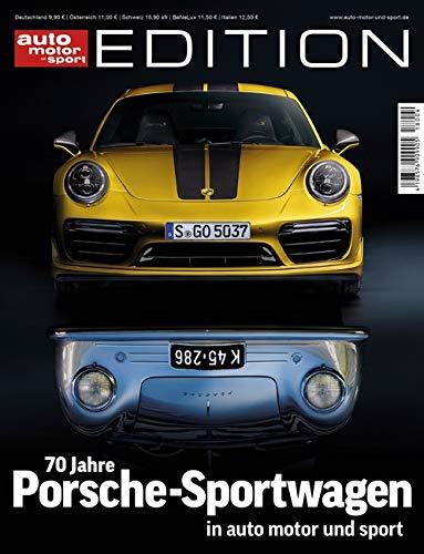 70 Jahre Porsche-Sportwagen (auto motor und sport) (Auto-motoren)