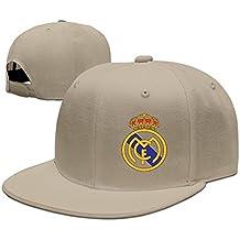 Runy Personalizado Real Madrid Club de F ¨² tbol Logo Sombrero y Gorra de  béisbol 1820f02fa40