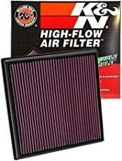K&N 33-2966 High Performance Replacement Air Filter for Chevorlet Cruze