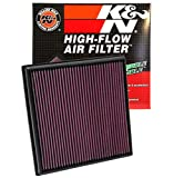 #3: K&N 33-2966 High Performance Replacement Air Filter for Chevorlet Cruze