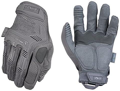 Mechanix Wear - M-Pact Wolf Grey Gants (Small, Gris)
