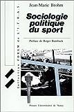 Telecharger Livres Sociologie politique du sport (PDF,EPUB,MOBI) gratuits en Francaise