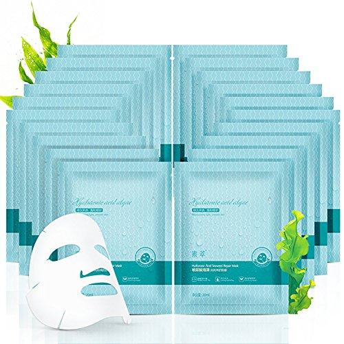 Etosell 25ml D'acide Hyaluronique Gumidite & Blanchissant Algues Soie Reparation Essence Masque