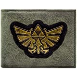 Legend of Zelda Gold Triforce Schwarz Portemonnaie Geldbörse