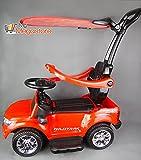 Ford Ranger Kinder Elektro- und Rutschauto 6V Elektro Motor mit LED und Sound